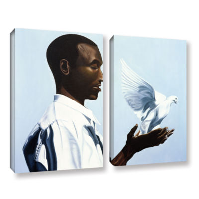 Brushstone Be Free Three 2-pc. Gallery Wrapped Canvas Wall Art