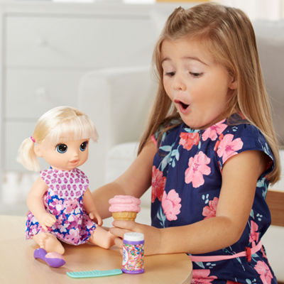 Baby Alive Baby Doll - Magical Scoops