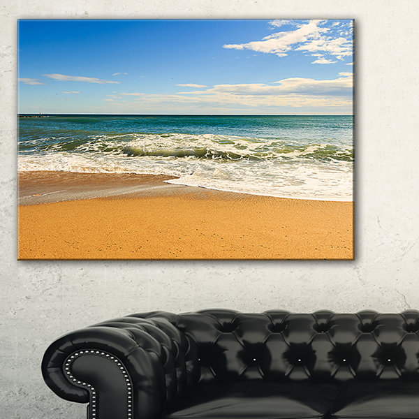 Designart Daylight Relaxation Landscape Photography Canvas Art Print - 3 Panels