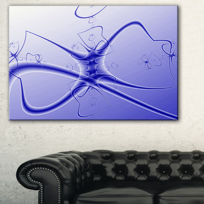 Designart Fictional Micro Life Form Abstract Canvas Art Print