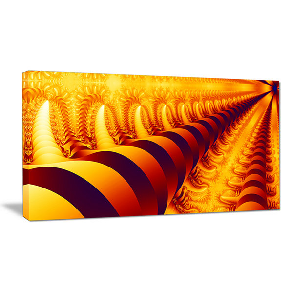 Designart Abyss With Infinite Depth Abstract Canvas Art Print