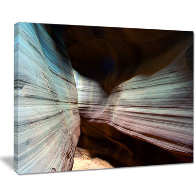 Designart Antelope Canyon Arizona Landscape PhotoCanvas Art Print