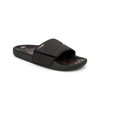 Copper Fit Glide Gel Mens Slide Sandals