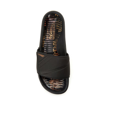 Copper Fit Glide Gel Mens Slide Sandals