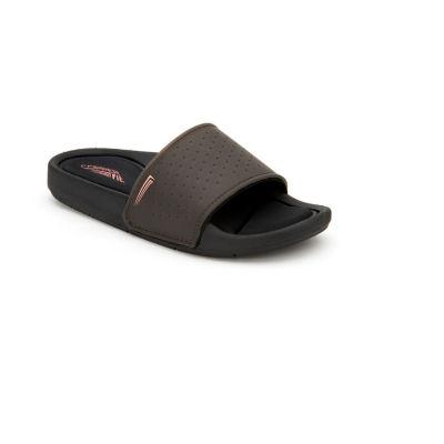 Copper Fit Glide Foam Womens Slide Sandals