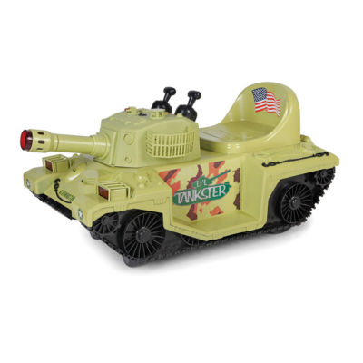 Giggo Toys - Li'l Tankster 6V Battery Powered Tank