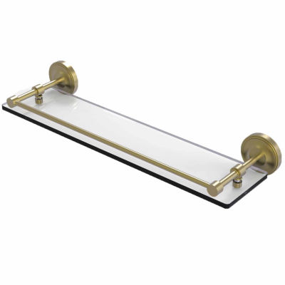 Allied Brass Prestige Monte Carlo Collection 30 Inch Towel Bar With Integrated Hooks