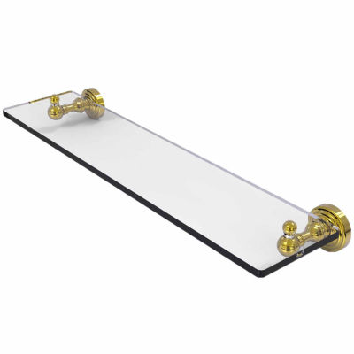 Allied Brass Prestige Que New Collection 36 Inch Towel Bar With Integrated Hooks