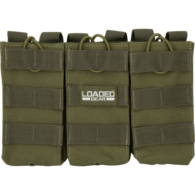 Loaded Gear CX-200 Triple Magazine Pouch OD Green