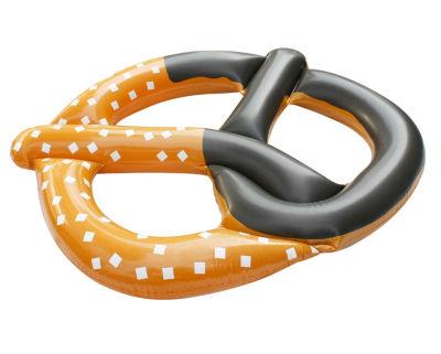 """51"""" Jumbo Inflatable Pretzel Island Swimming Pool Novelty Raft Float"""