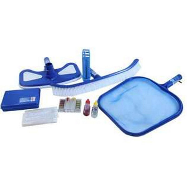 5-Piece Premium Swimming Pool Cleaning MaintenanceSet with Test Kit