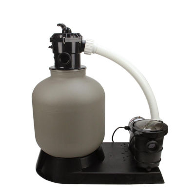 """19"""" Top-Mount Above-Ground Swimming Pool and Spa Sand Filter and 1 HP Pump System"""