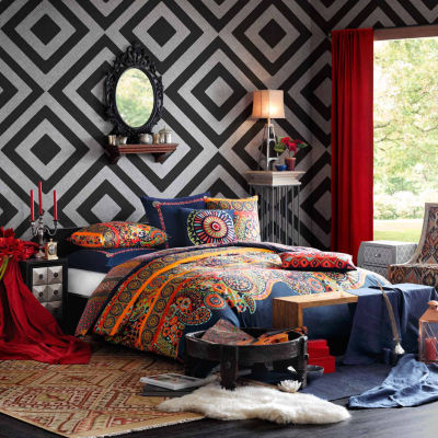Hollywood Boho Cotton Printed Comforter Set