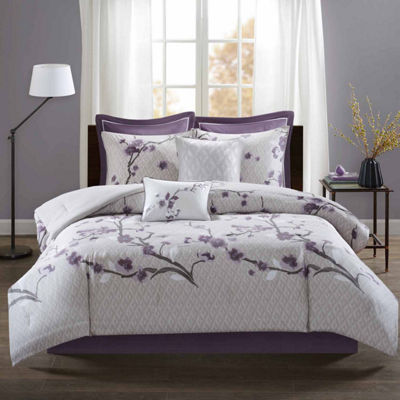 Madison Park Isabella Cotton Floral Comforter Set