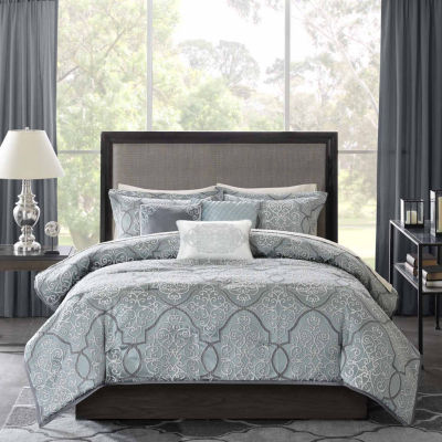Madison Park Anouk Jacquard 6-pc. Duvet Cover Set