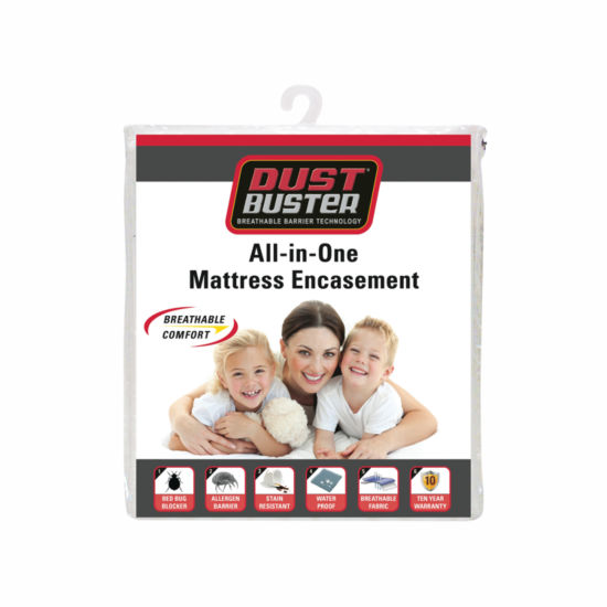Dust Buster™ All-in-One Twin XL Mattress Protector