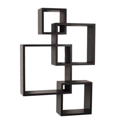 Danya B. Intersecting Cube Shelves