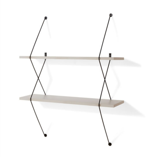 Danya B. Contemporary Two Level Shelving System