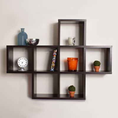 Danya B. Cubby Laminated Shelving Unit
