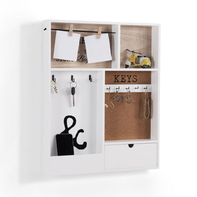 Danya B. Entryway Key Mail Holder Wall Organizer