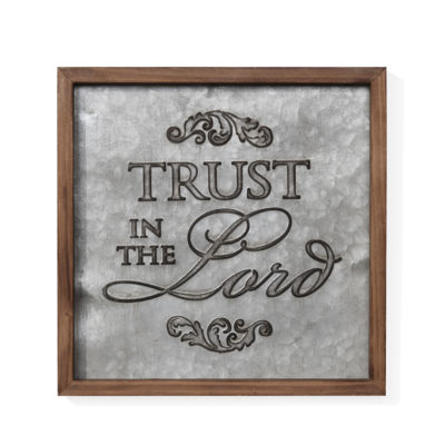 "Danya B. ""Trust in the Lord"" Framed Metal Art"""
