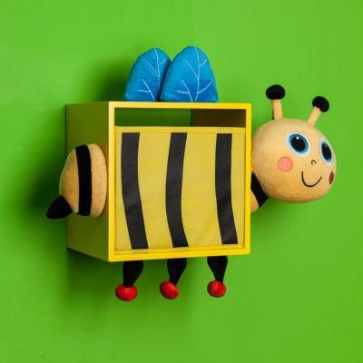 Danya B. Plush Bee Kids Wall Storage Bin