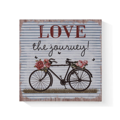 "Danya B. ""Love the Journey"" Wooden Wall Art"