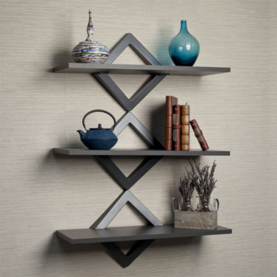Danya B. Diamonds Three Level Shelving System