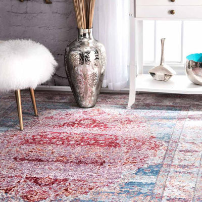 nuLoom Fancy Medallion Renato Rug