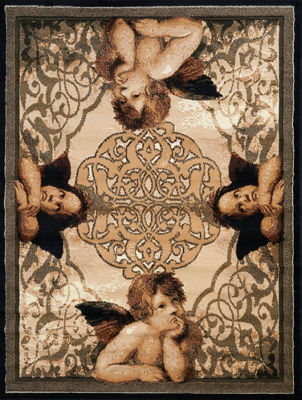 United Weavers Legends Collection Cherubs Rectangular Rug
