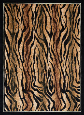 United Weavers Legends Collection Safari Skin Rectangular Rug