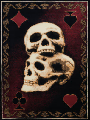 United Weavers Legends Collection Skulls Rectangular Rug