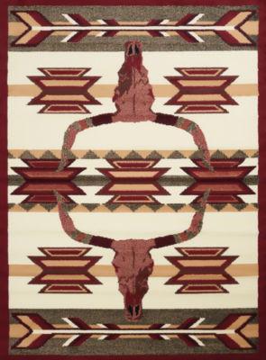United Weavers Legends Collection Bone Arrow Rectangular Rug