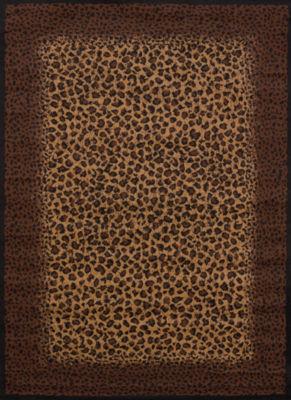 United Weavers Legends Collection Leopard Skin Rectangular Rug