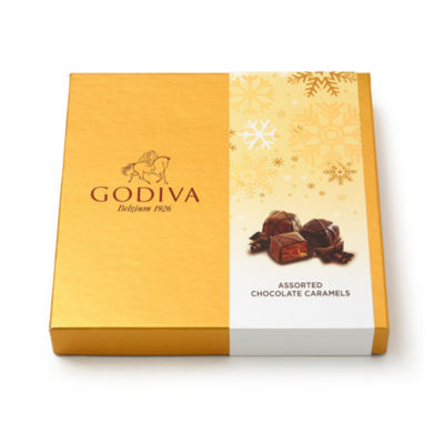 Godiva Holiday 2017 15pc Caramel Gift Box