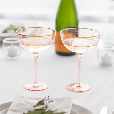 Cathy's Concepts 2-pack Personalized Champagne Flutes