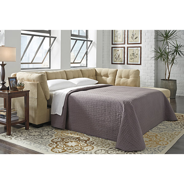 Signature Design by Ashley® Mason LAF Sleeper with Chaise - Benchcraft