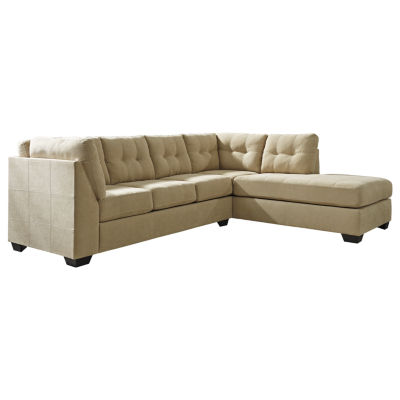 Signature design by ashley mason sofa and chaise for Benchcraft chaise lounge