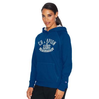 Champion Long Sleeve Fleece Logo Hoodie