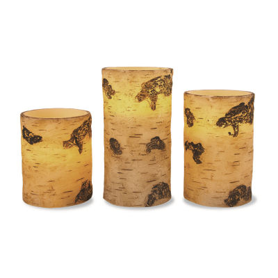Apothecary Birch 3-pc. Flameless Candle
