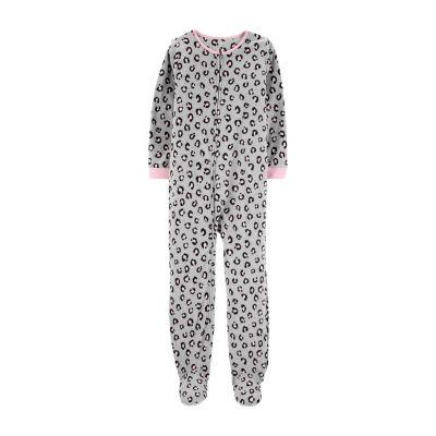 Carter's Girls Knit One Piece Pajama