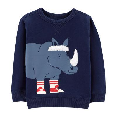 Carter's Long Sleeve Sweatshirt - Toddler Boys