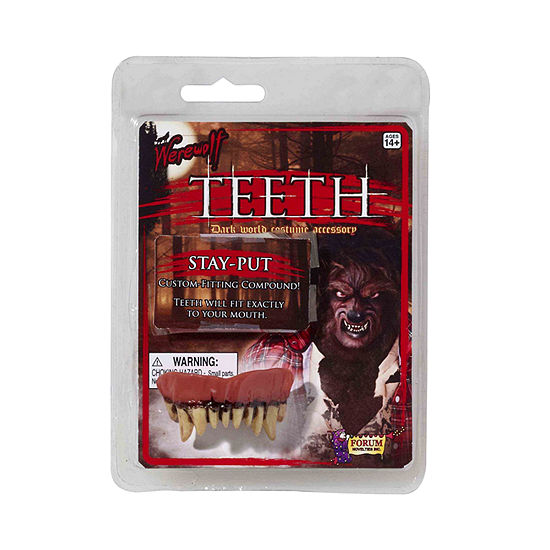 Buyseasons Werewolf Teeth Dress Up Accessory