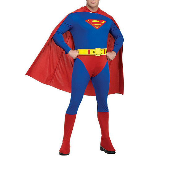 Justice League Superman Plus Adult Dress Up Costume