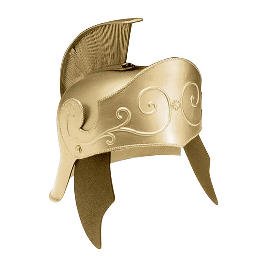 Gold Roman Helmet Costume