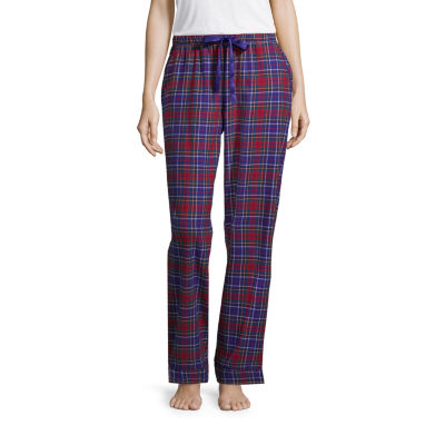Liz Claiborne Flannel Pajama Pant- Talls