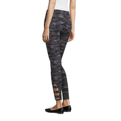 Mixit Tall Ankle Detail Womens Slim Legging - Tall