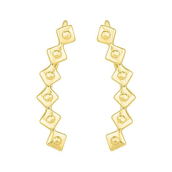 10K Gold Ear Climbers