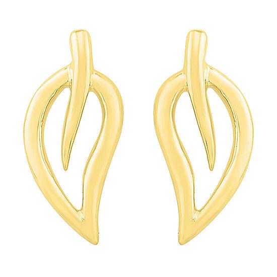 10K Gold 8.4mm Stud Earrings