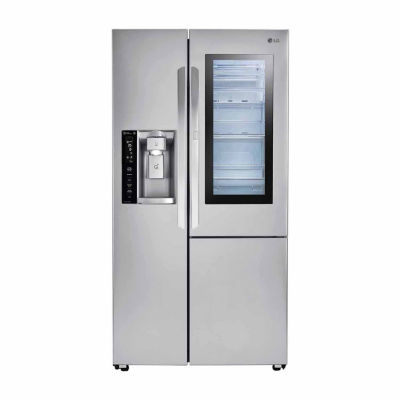 LG ENERGY STAR® 26.1 cu.ft. Smart Wi-Fi Enabled Side-By-Side Refrigerator with InstaView™ Door-in-Door®